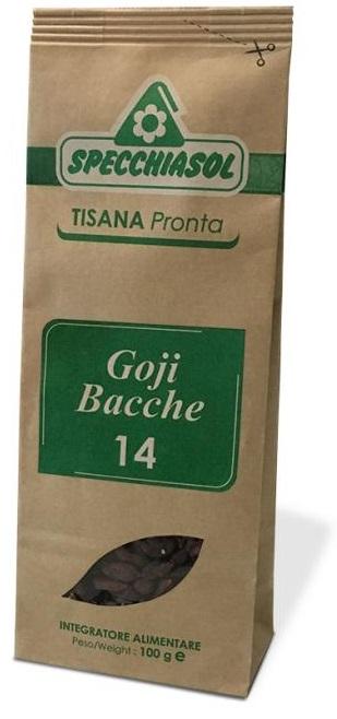 Specchiasol Tisana Pronta Bacche di Goji 14 Antiossidante 100 g