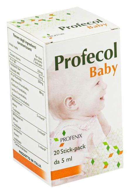 PROFECOL BABY 20 STICK PACK DA 5 ML - Farmacia Centrale Dr. Monteleone Adriano