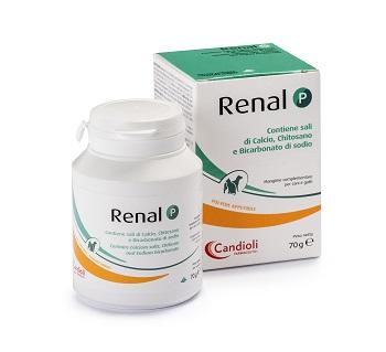 RENAL P MANGIME COMPLEMENTARE PER CANI E GATTI BARATTOLO 70 G - FARMAEMPORIO