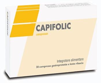 CAPIFOLIC 30 COMPRESSE GASTROPROTETTE A RILASCIO LENTO - Sempredisponibile.it