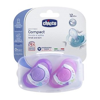 CHICCO SUCCHIETTO COMPACT GIRL S 16-36 MESI 2 PEZZI - Farmaseller