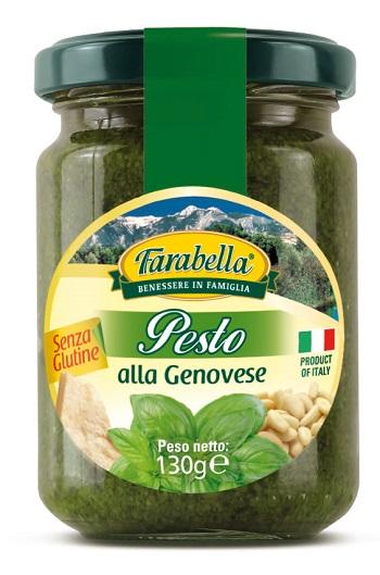 FARABELLA PESTO GENOVESE SENZA GLUTINE 130 G - Farmaseller