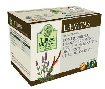 TERRAE MONACI LAEVITAS TISANA BIO 20 FILTRI DA 1,5 G -  Farmacia Santa Chiara