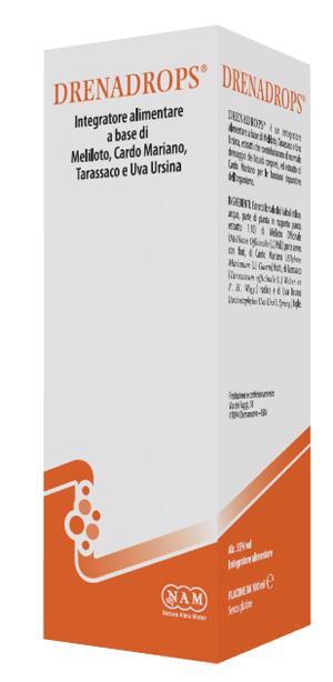 DRENADROPS SOLUZIONE IDROALCOLICA 100 ML - sapofarma.it