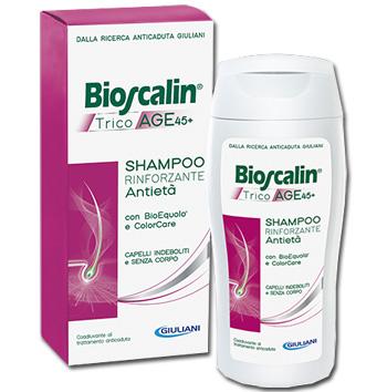 BIOSCALIN TRICOAGE SHAMPOO 200 + 200 ML - Farmastop