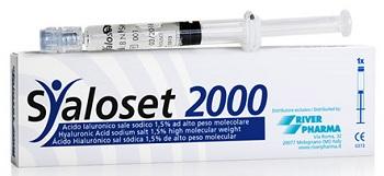 SIRINGA INTRA-ARTICOLARE SYALOSET 2000 ACIDO IALURONICO 1,5% 2 ML 3 PEZZI - Farmapage.it