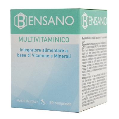 BENSANO MULTIVITAMINICO 30 COMPRESSE - Turbofarma.it