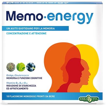 MEMO ENERGY 10 FLACONCINI X 12 ML - Farmafamily.it