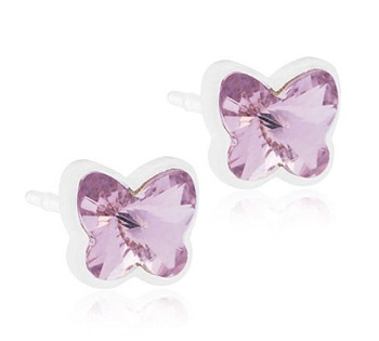 Image of BLOMDAHL GIOIELLO MP BUTTERFLY 5MM LIGHT AMETHYST