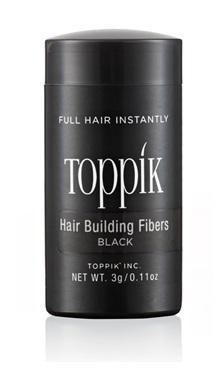 TOPPIK HAIR BUILDING FIBERS TRAVEL SIZE BLACK