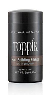 TOPPIK HAIR BUILDING FIBERS TRAVEL SIZE DARK BROWN