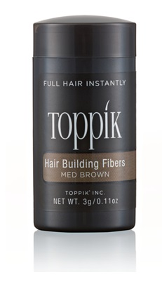 TOPPIK HAIR BUILDING FIBERS TRAVEL SIZE MEDIUM BROWN