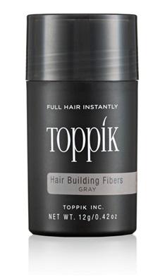 TOPPIK HAIR BUILDING FIBERS REGULAR SIZE GRAY