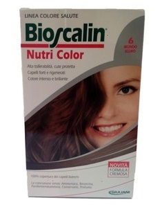 BIOSCALIN NUTRI COLOR 6 BIONDO SCURO SINCROB 124 ML - Farmabenni.it