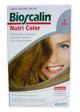 BIOSCALIN NUTRI COLOR 7 BIONDO 124 ML - Speedyfarma.it