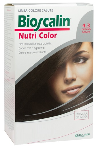 BIOSCALIN NUTRI COLOR 4,3 CASTANO DORATO 124 ML - Speedyfarma.it