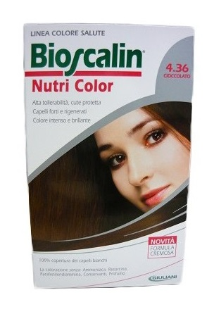 BIOSCALIN NUTRI COLOR 4,36 CIOCCOLATO 124 ML - Speedyfarma.it