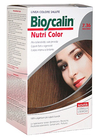 BIOSCALIN NUTRI COLOR 7,36 NOCCIOLA SINCROB 124 ML - Farmastop