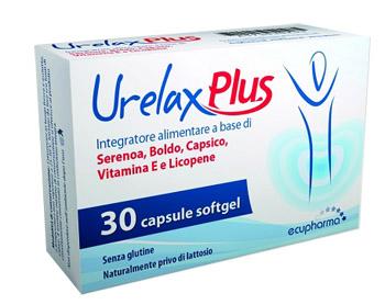 URELAX PLUS 30 CAPSULE SOFTGEL - FARMAEMPORIO