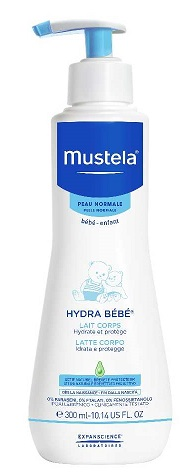 MUSTELA HYDRA BEBE' LATTE CORPO 300ML - Farmawing