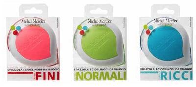 Michel Mercier Spazzola Scioglinodi da Viaggio Capelli Normali - Sempredisponibile.it