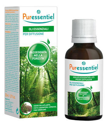 PURESSENTIEL MISCELA PASSEGGIATA FORESTA PER DIFFUSIONE 30 ML - Farmaciaempatica.it