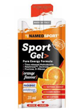 Sport Gel Orange 25 ml - Farmalilla