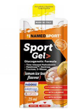 SPORT GEL LEMON ICE TEA 25 ML - Spacefarma.it