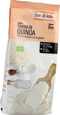FARINA QUINOA SENZA GLUTINE BIO 375 G - Farmacia Castel del Monte
