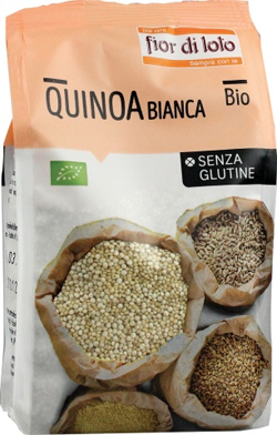 QUINOA BIANCA SENZA GLUTINE BIO 400 G - Farmafamily.it
