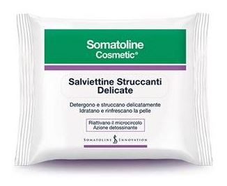 SOMATOLINE COSMETIC SALVIETTINE STRUCCANTI 20 PEZZI - Farmaunclick.it