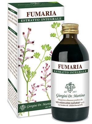FUMARIA ESTRATTO INTEGRALE 200 ML - Zfarmacia