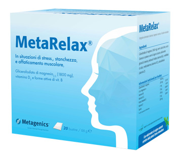 Metarelax Integratore Alimentare 20 Bustine - Spacefarma.it