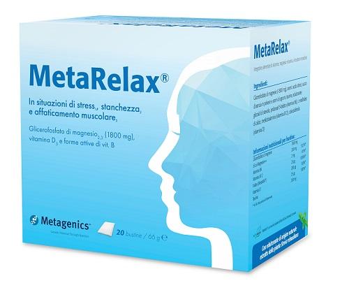 METARELAX NEW 20 BUSTINE - Farmacia 33