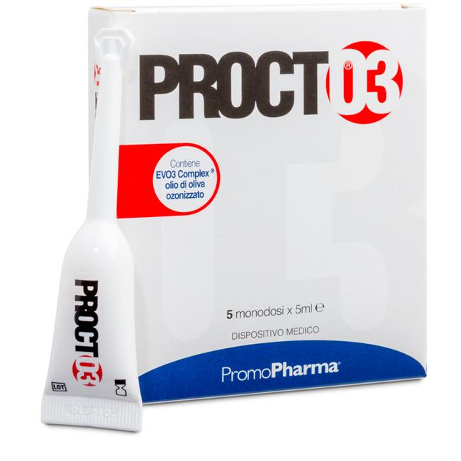 PROCTO3 5 MONODOSE 5 ML - Farmacia Centrale Dr. Monteleone Adriano