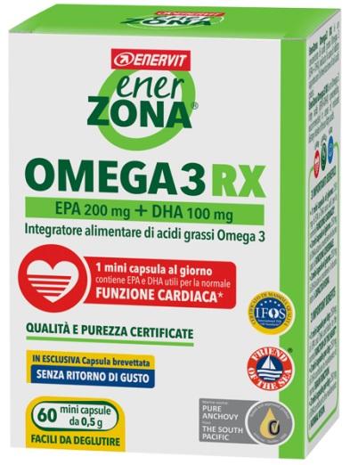 ENERZONA OMEGA 3 RX 60 MINICAPSULE - Spacefarma.it