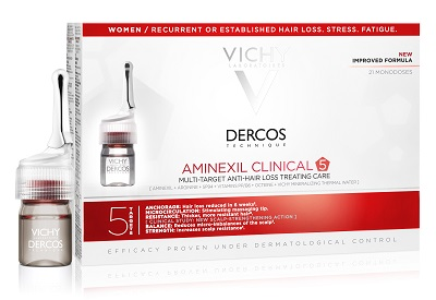 DERCOS AMINEXIL FIALE 21 DONNA 6 ML - Farmia.it