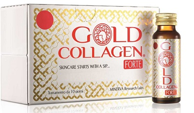 GOLD COLLAGEN FORTE 10 FLACONI - farmaciadeglispeziali.it