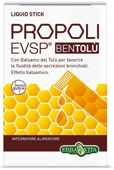 PROPOLI EVSP BENTOLU 10 FLACONCINI X 10 ML - DrStebe