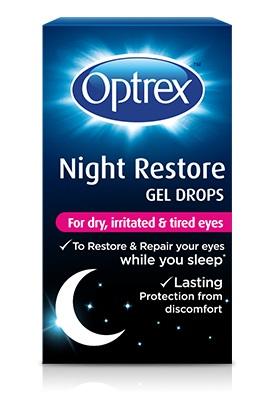 GEL OCULARE OPTREX NIGHT REPAIR COLLIRIO GEL 10 ML - La farmacia digitale