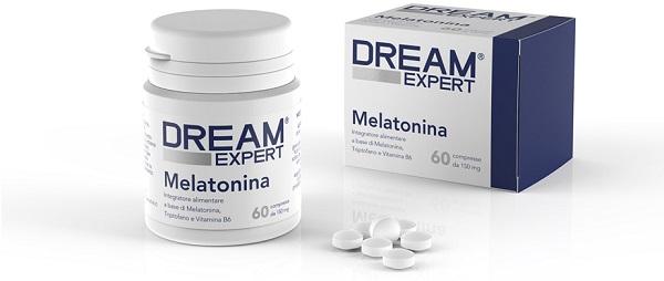 DREAM EXPERT MELATONINA 60 COMPRESSE - DrStebe