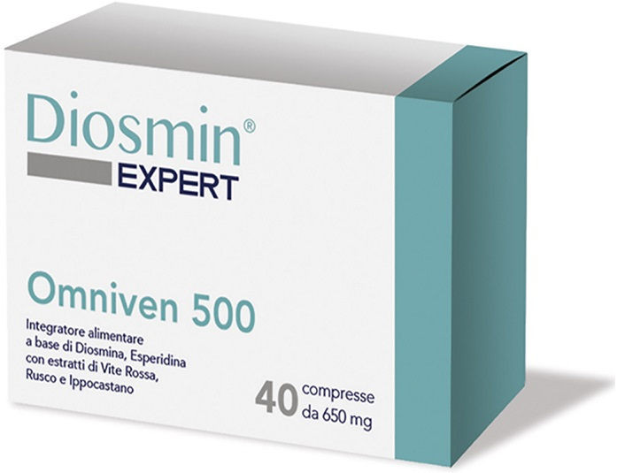DIOSMIN EXPERT OMNIVEN 500 40 COMPRESSE - Farmapage.it