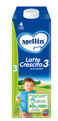 MELLIN LATTE CRESCITA 3 1000 ML - FARMAPRIME