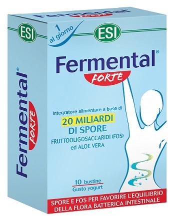 ESI FERMENTAL FORTE 10 BUSTINE OROSOLUBILI - Farmapage.it