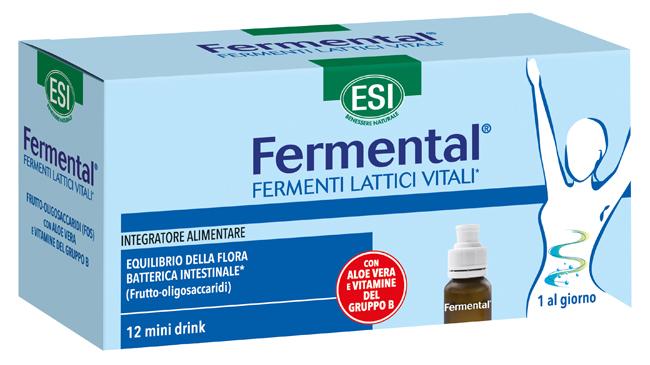 ESI FERMENTAL MAX 12 FLACONCINI - Farmaedo.it