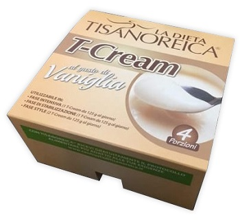 Tisanoreica T-Cream Vaniglia Intenso 4x125g - Farmapage.it