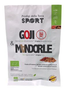 Goji & Mandorle Sport Alicamentis Bio 28g prodigi della terra