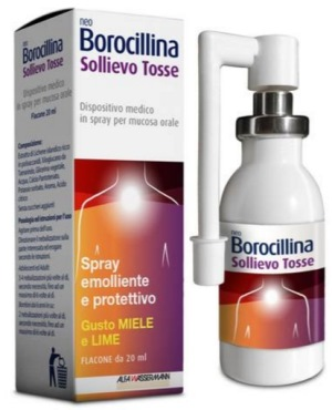 NEOBOROCILLINA SOLLIEVO TOSSE SPRAY 20 ML - farmaciadeglispeziali.it
