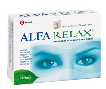 ALFARELAX MASCHERA RIPOSANTE OCCHI 6 BUSTINE X 7 ML - La farmacia digitale