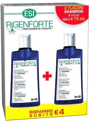 KIT RIGENFORTE SHAMPOO ENERGIZZANTE 200 ML + 200 ML - Parafarmaciabenessere.it